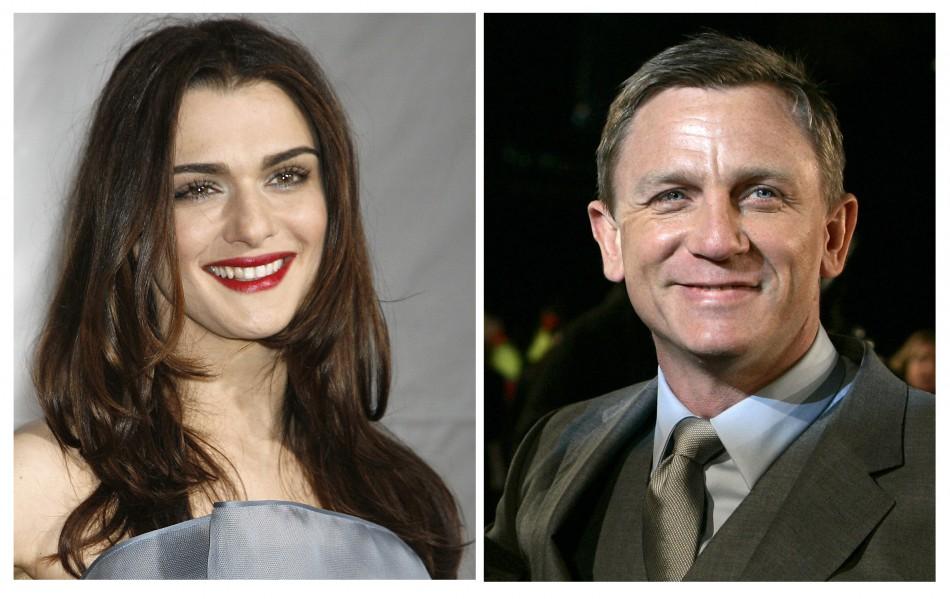 Daniel Craig and Rachel Weisz