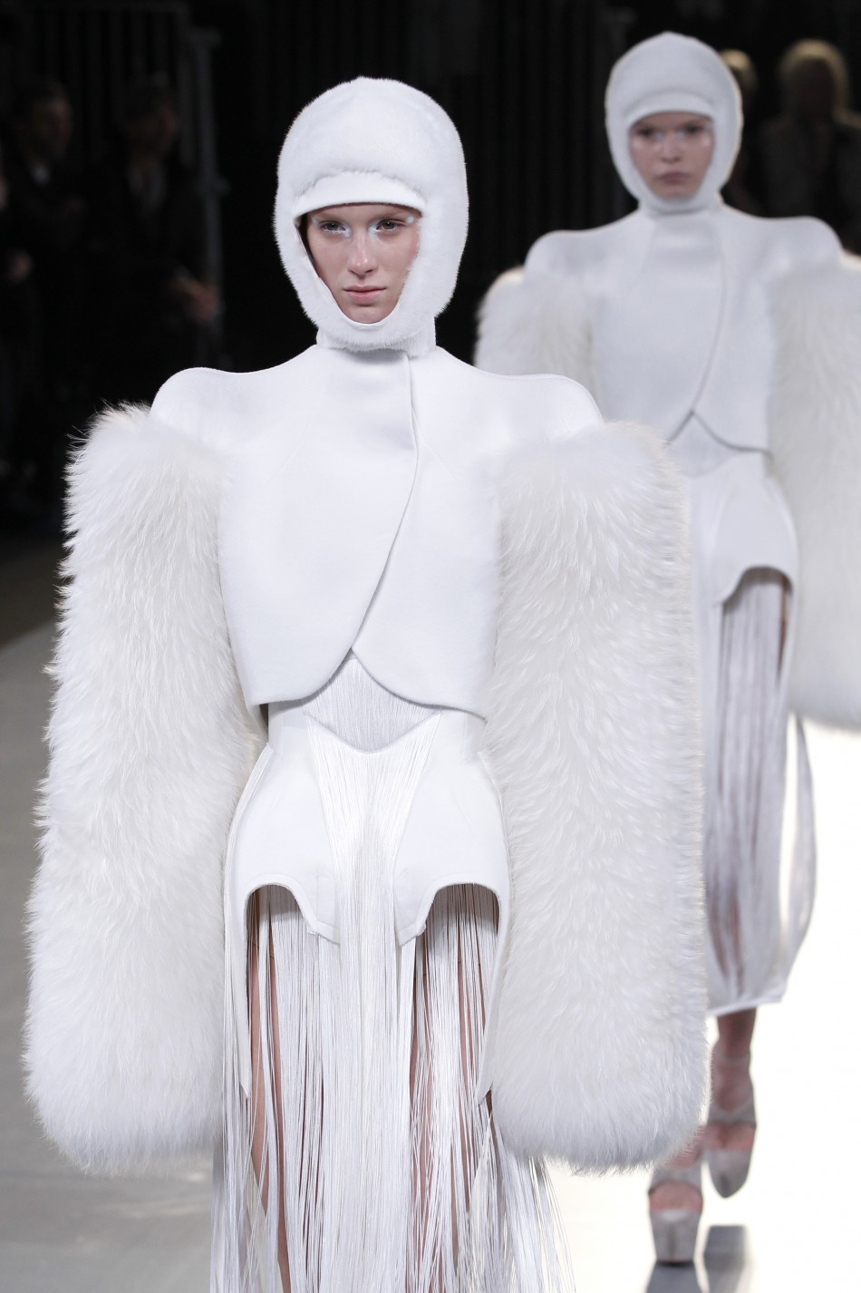 Insects on the Ramp! Complete Look of Mugler's Womenswear Collection at Paris