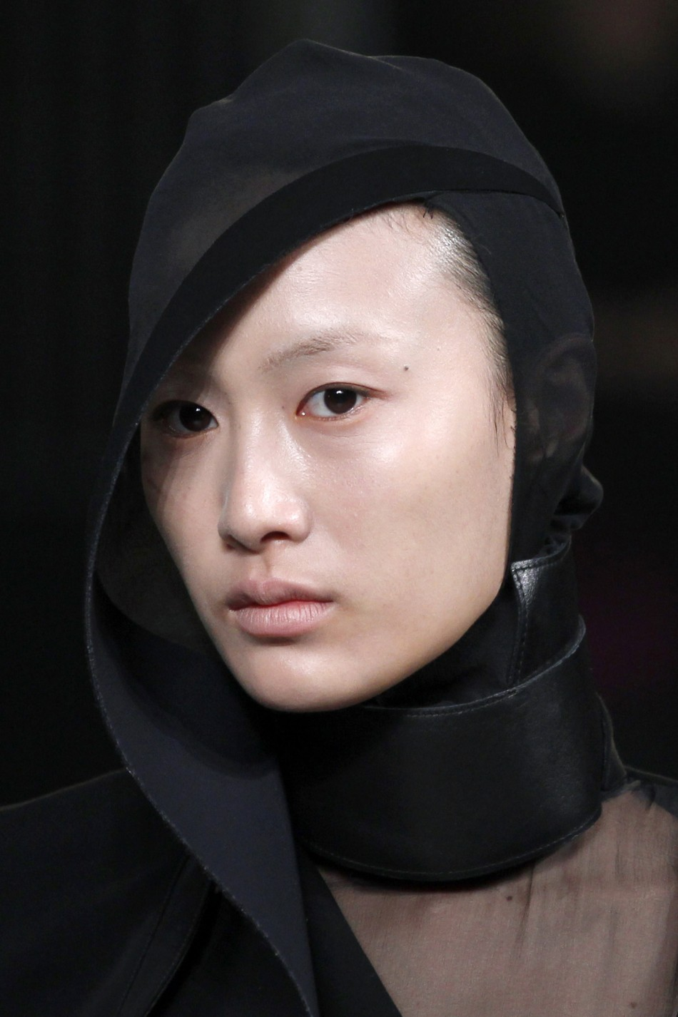 Insects on the Ramp Complete Look of Muglers Womenswear Collection at Paris