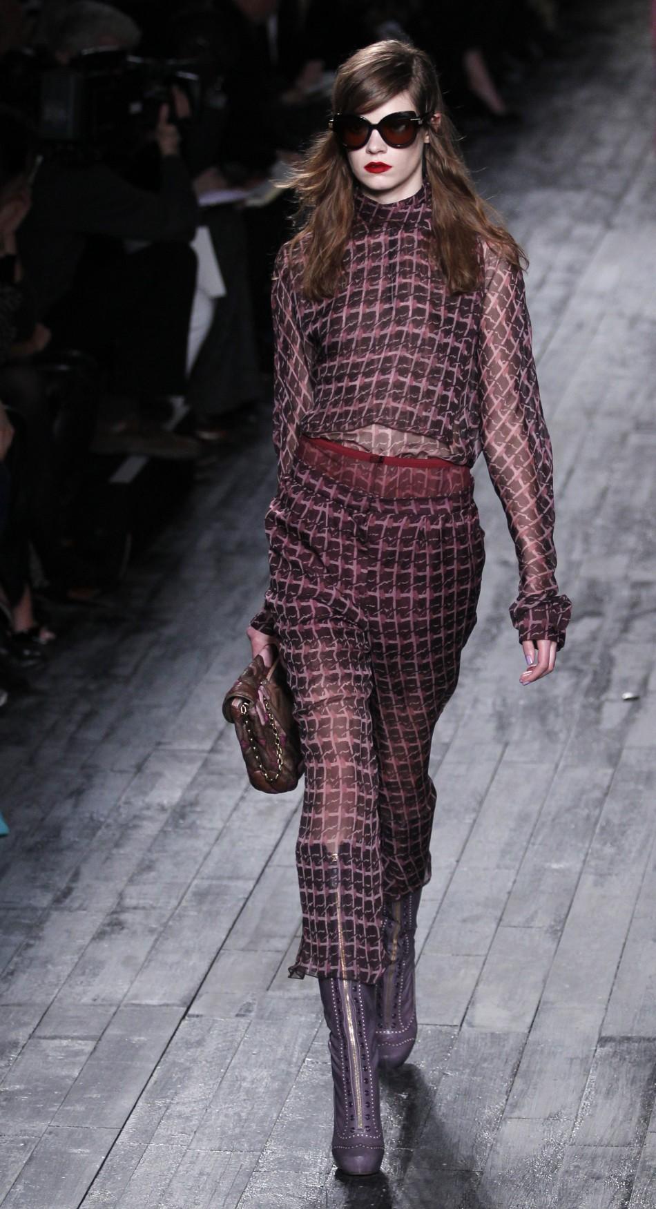 Paris Fashion Week Highlight Peter Copping For Nina Ricci