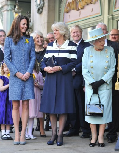 Kate Middletons Day Out with Royal Ladies Duchesss First Public Photos with Queen  Camilla