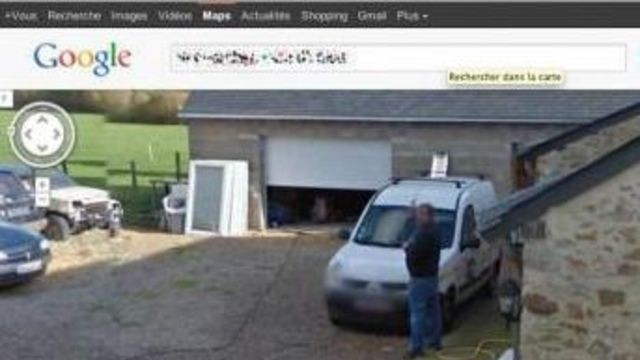 Frenchman caught urinating outside house by Google Street View camera