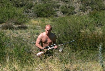 Brandishing a rifle