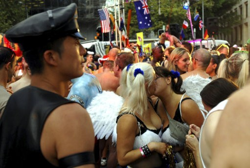 from Dayton the gay festival in australia