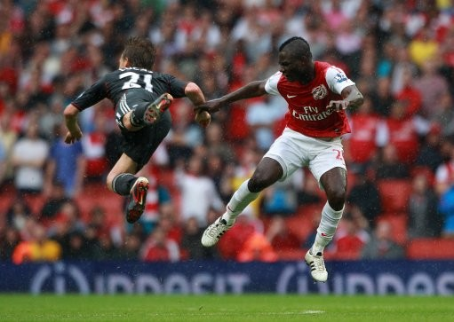Liverpool v Arsenal at the Emirates stadium, Dated August 20, 2011