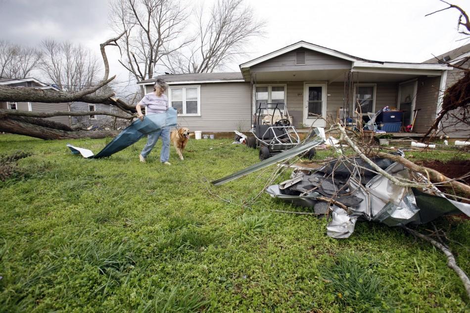 Tornado Strikes US States