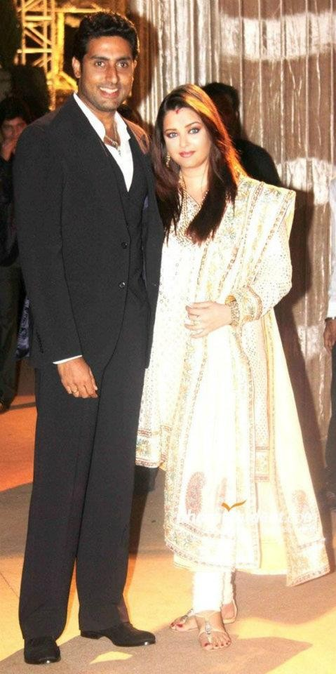 Aishwarya Rai Bachchan With Husband Abhishek Bachchan