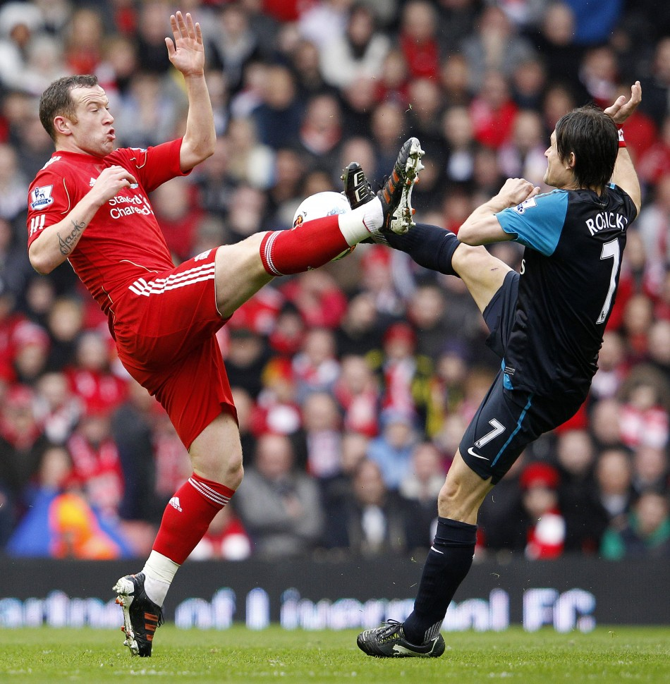 Liverpool thrash Arsenal 5-1, go 9 points clear | Gist4real