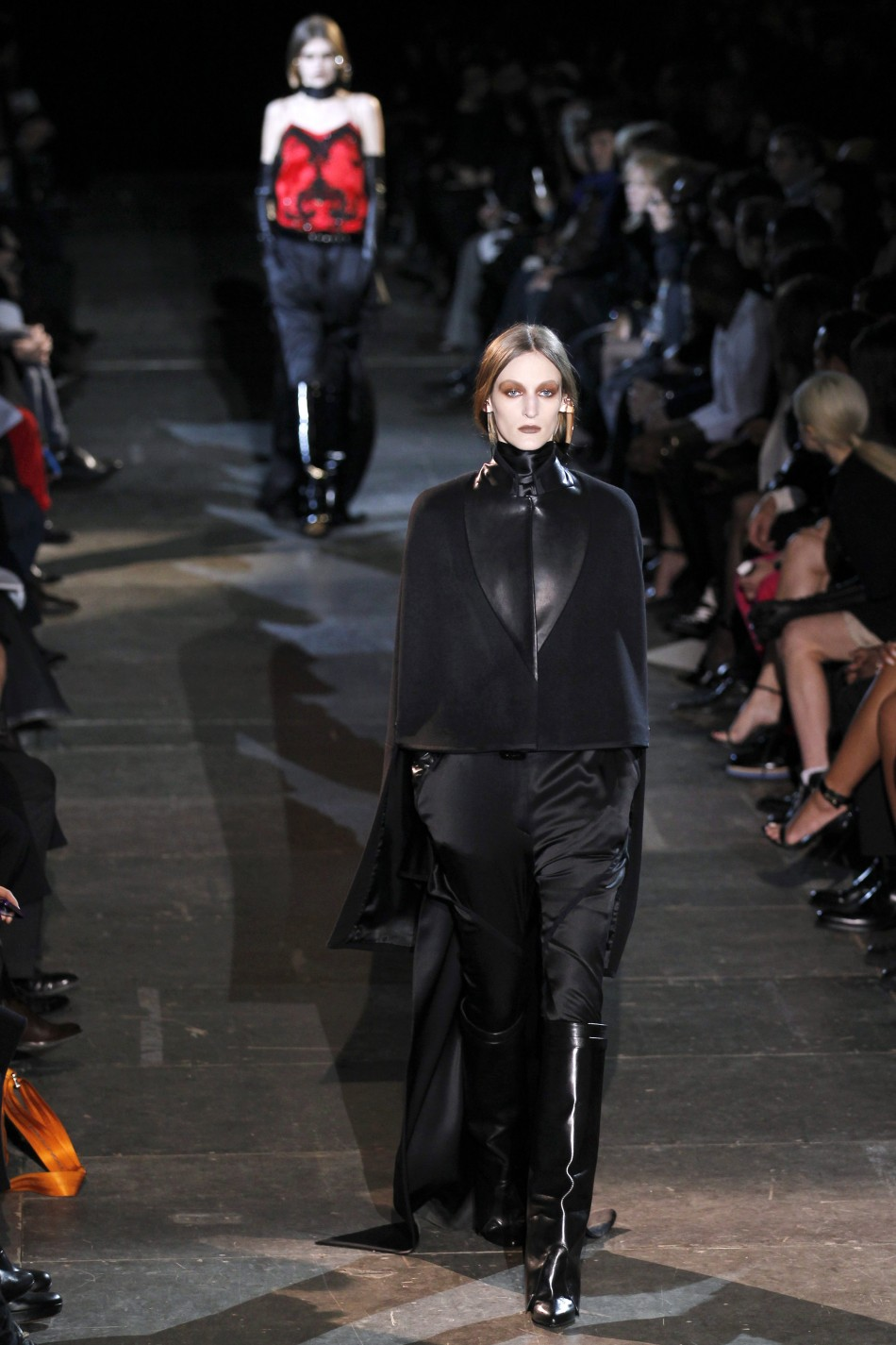 Riccardo Tisci's Equestrian Collection for Givenchy at Paris Fashion Week