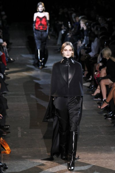 Riccardo Tiscis Equestrian Collection for Givenchy at Paris Fashion Week