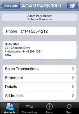 MATG My Accounts to Go - SAP BusinessOne