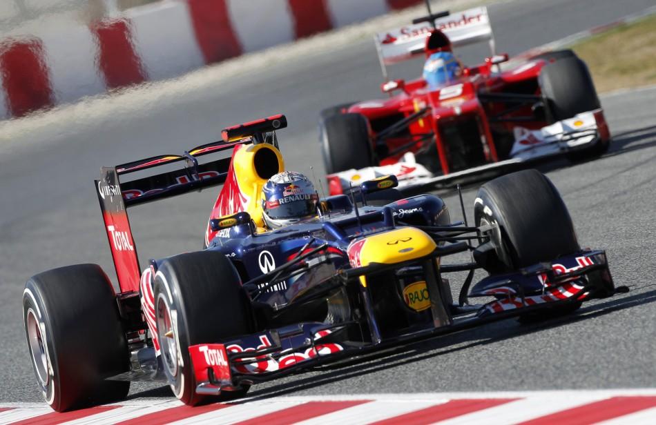 Ferrari and Red Bull