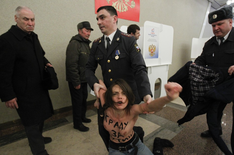 Activist detained