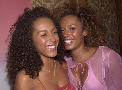 Mel B and Danielle Brown