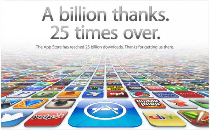 AppStore 25 billion