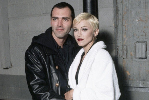 Christopher Ciccone and Madonna