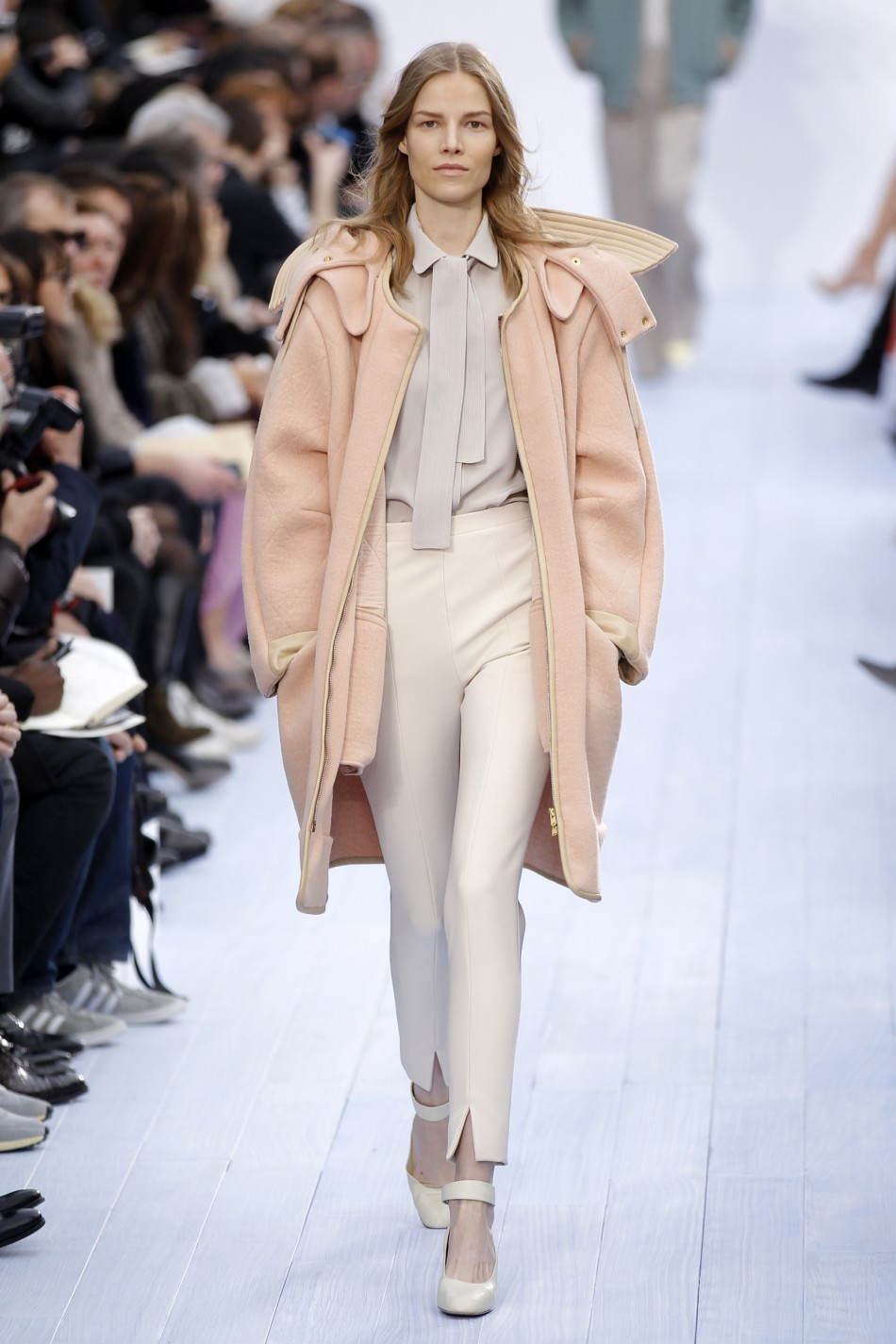 Paris Fashion Week Chloes Light and Wearable FallWinter Creations