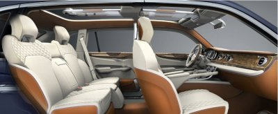 The Bentley EXP 9 F Concept SUV