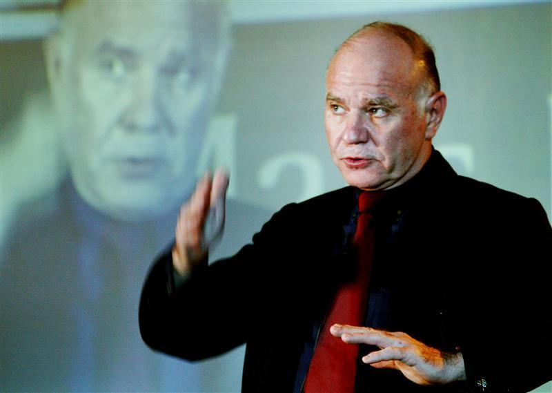 Marc Faber warns of a coming wealth destruction through a combination of deflation and inflation