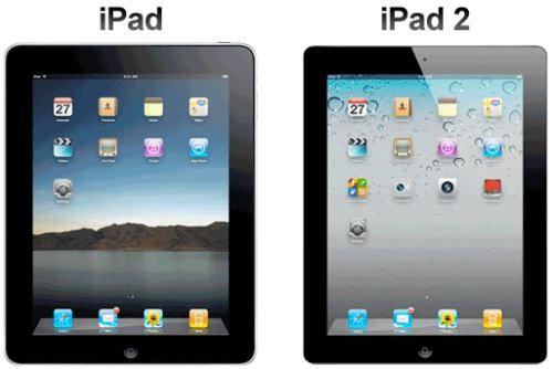 iPad versus iPad 2