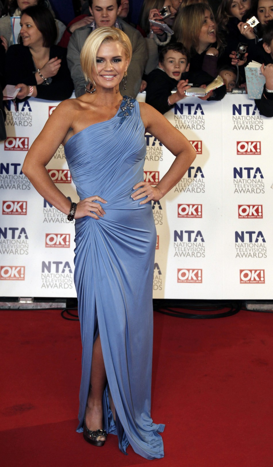 Reality TV star and former Atomic Kitten Kerry Katona
