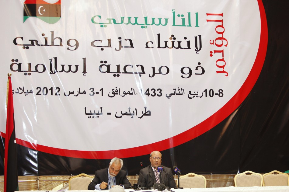 Mohamed Hassan Swaan, leader of Libya's new Justice and Development Party