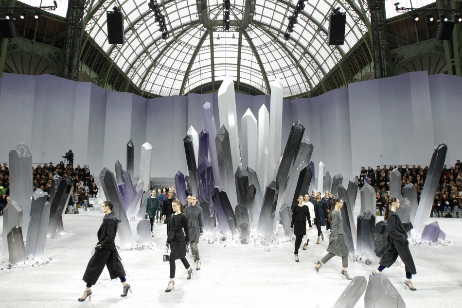 Celebrities and Fashionistas at Chanel's Paris Fashion Week Show