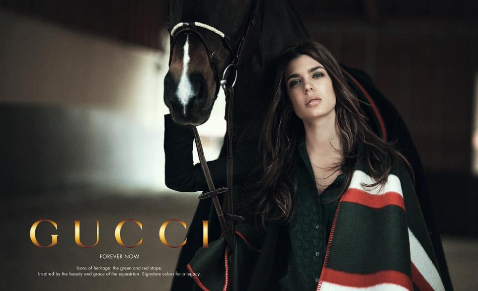 "First Look: Royal Princess Charlotte Casiraghi's ""Forever Now"" Campaign for Gucci"