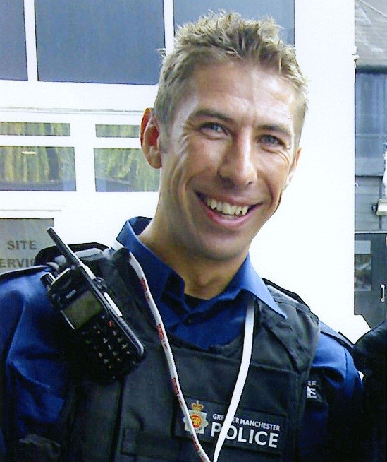 PC Ian Terry was shot dead during a training exercise (GMPolice)