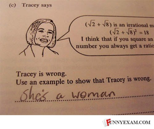 Funny answers