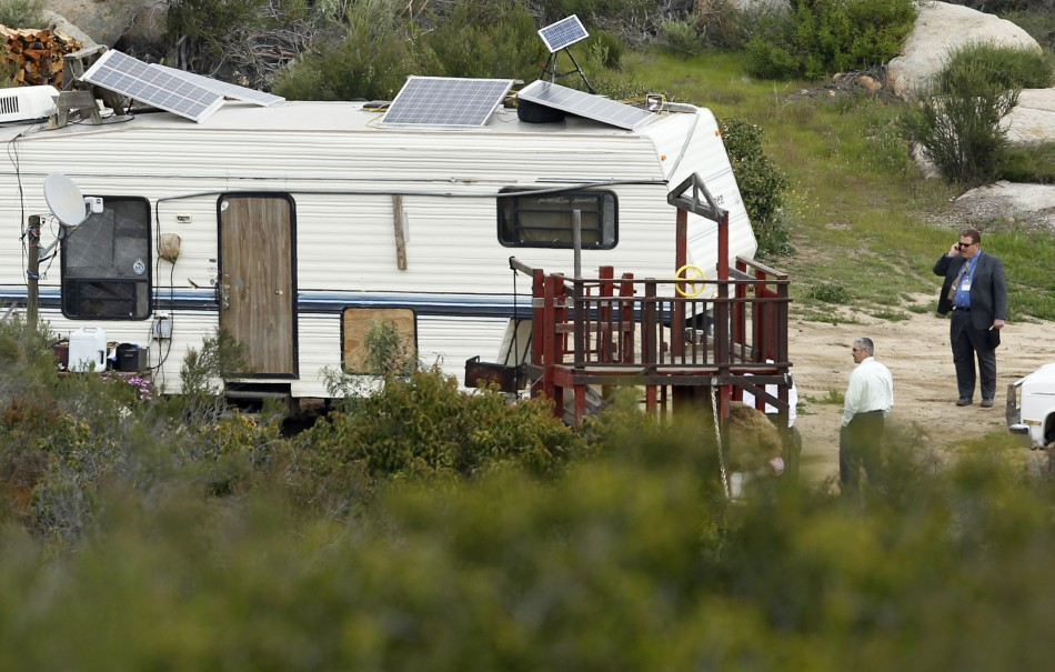 Homemade cannon kills woman in mobile home in California (Reuters)