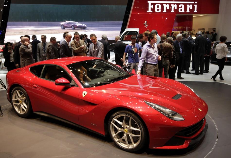 Ferrari auction Raises Over £1.45 Million for Italian Earthquake Victims