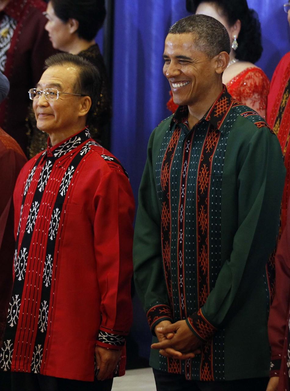 Wen Jiabo and Barack Obama