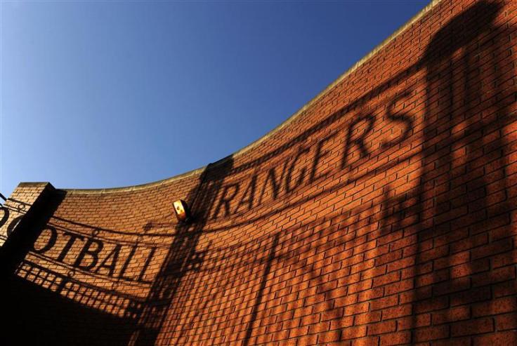 Ibrox Stadium, home of Glasgow Rangers Football Club