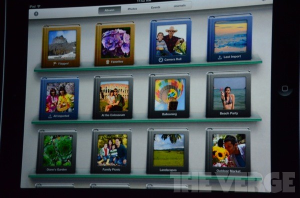 iPhoto for iPad