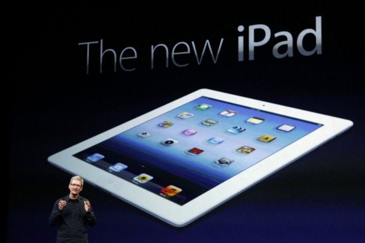 New Ipad should be ipad 4g