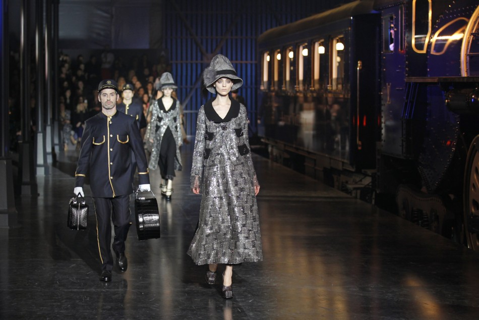 Louis Vuitton Transports Spectators to Edwardian Era of Fashionable Travel