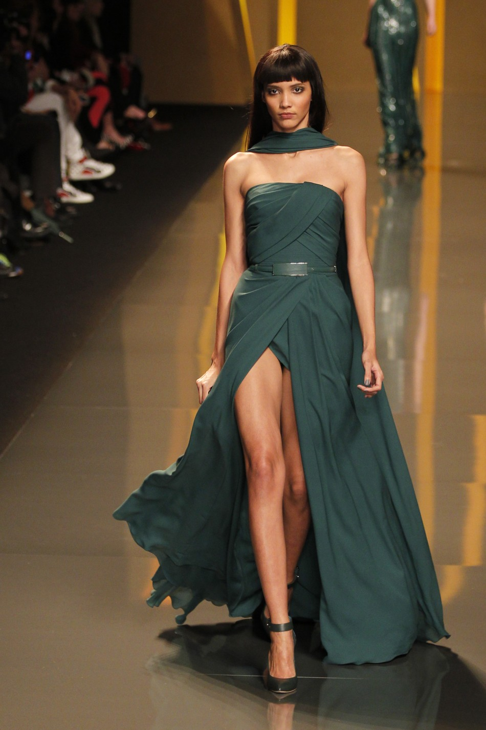 Elie Saab's Ultra Glam and Opulent Red-Carpet Creations at ...