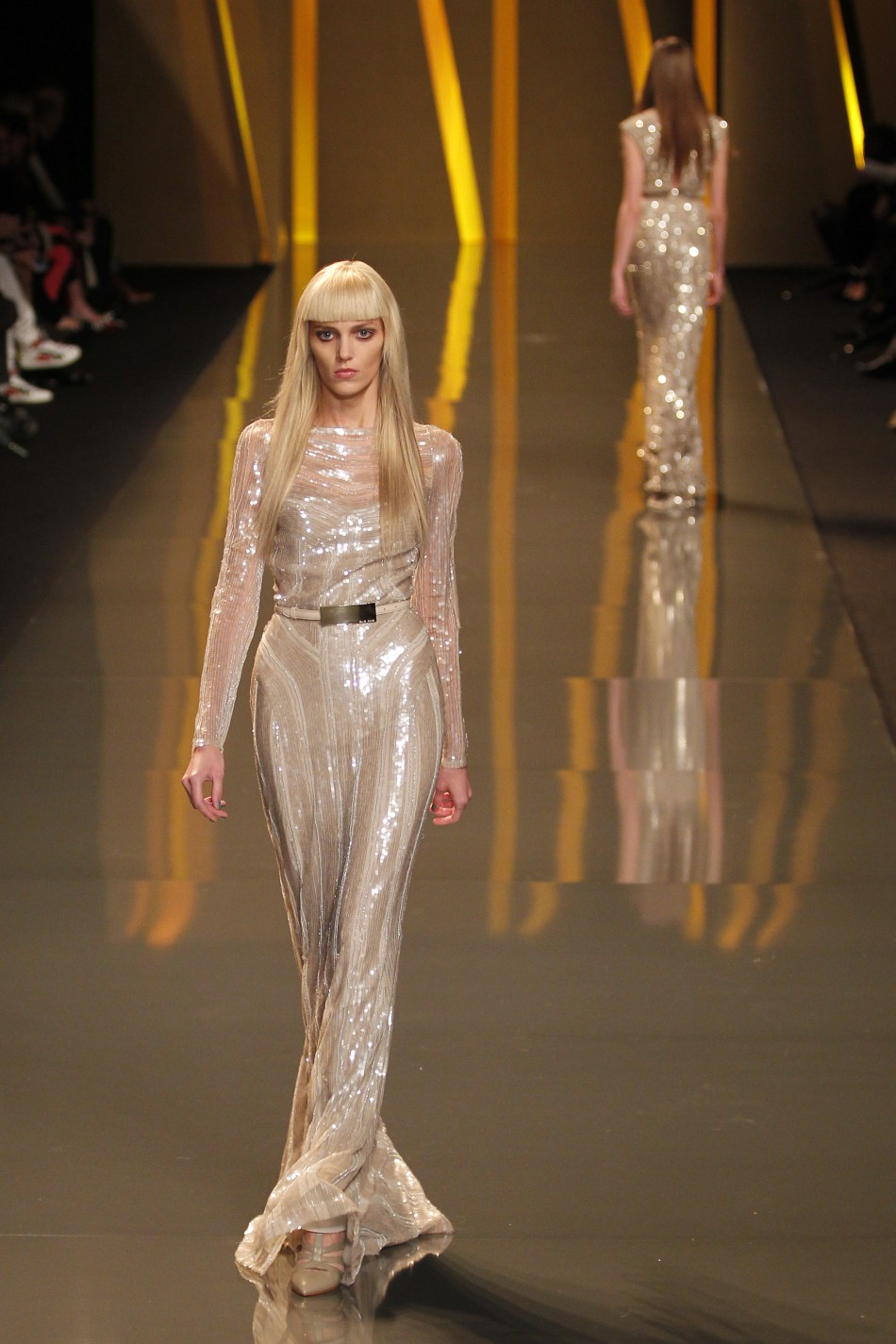 Elie Saabs Ultra Glam and Opulent Red-Carpet Creations at Paris Fashion Week