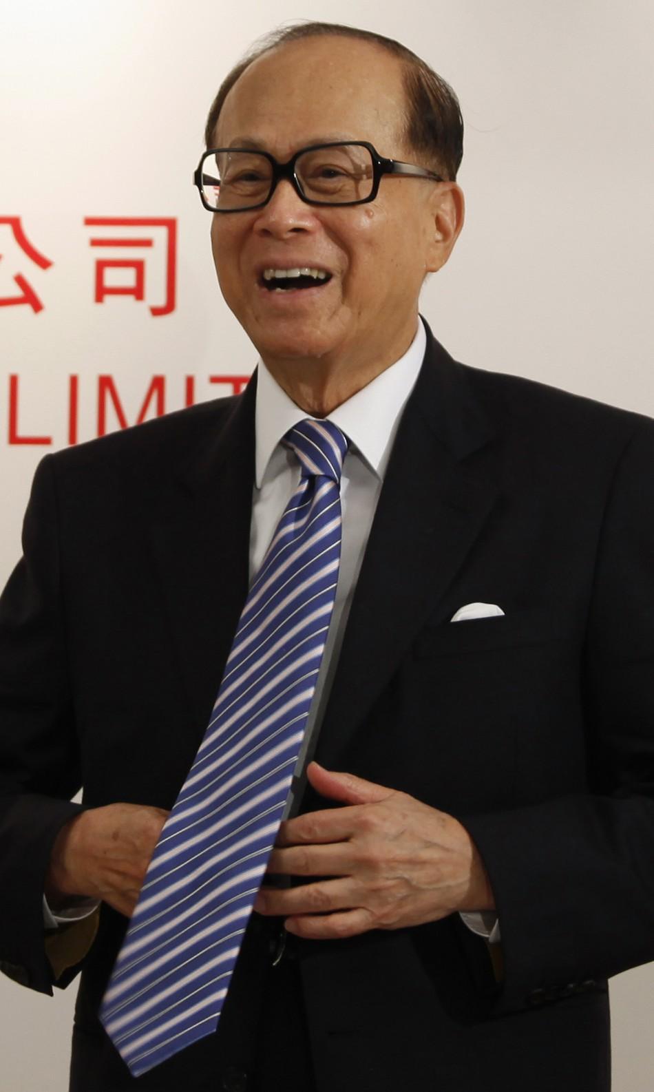 9. Li Ka-shing- Hong Kong