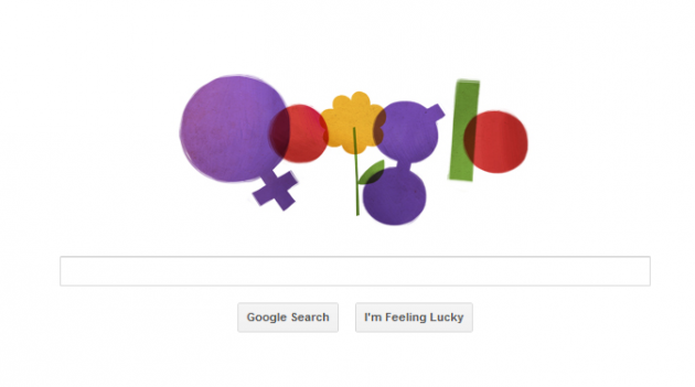 Google Doodle International Women's Day