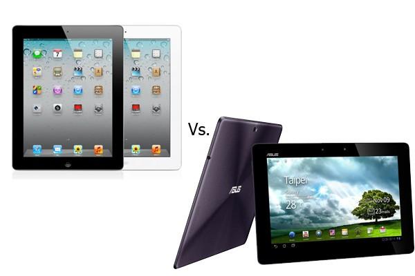 New iPad versus Transformer Prime