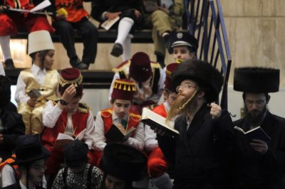 Jews celebrate Purim