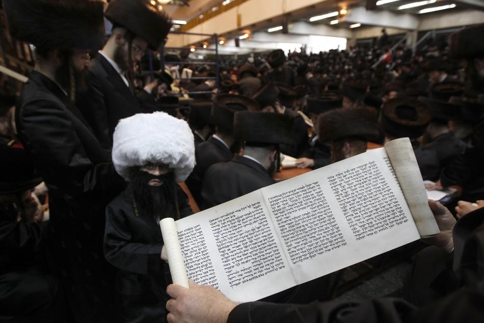 Jews celebrate Purim