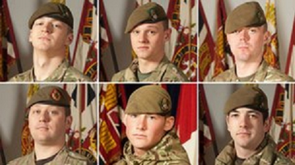 Six British soldiers killed by Taliban attack in Afghnaistan