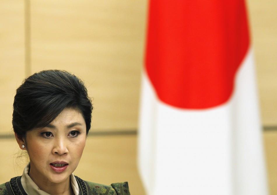 Prime Minister Yingluck Shinawatra (Thailand)