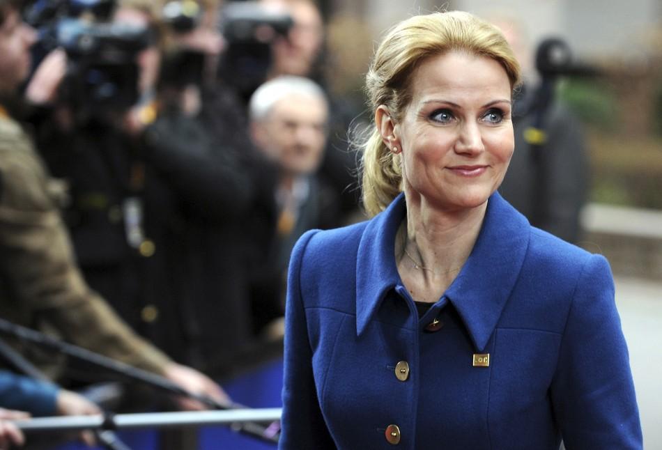 Denmark Prime Minister Helle Thorning-Schmidt