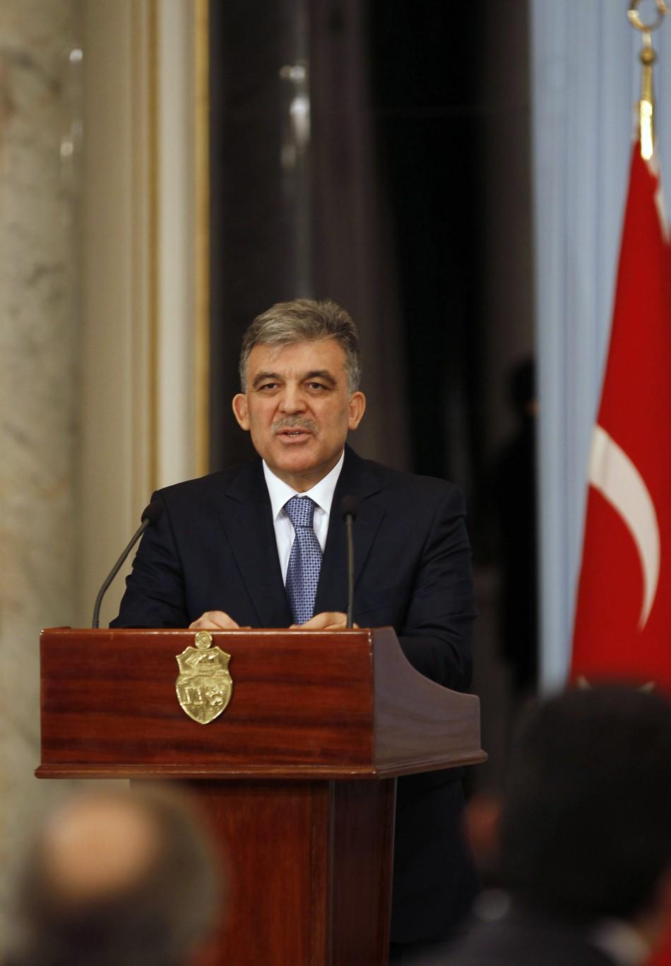 Turkish President Abdullah Gül