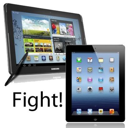 Samsung Galaxy Note 10.1 vs New iPad
