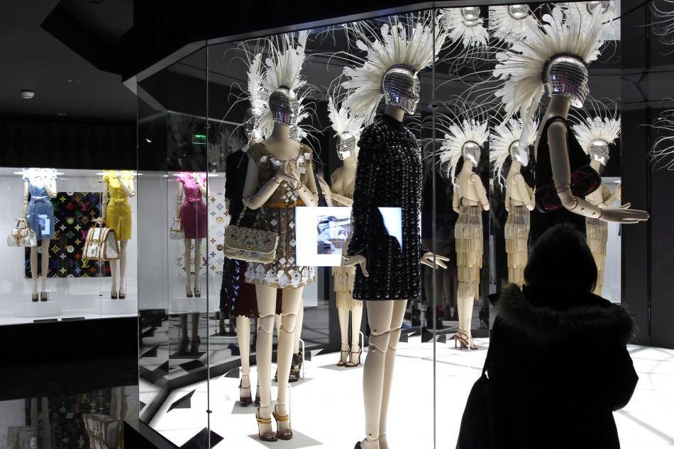 Louis Vuitton-Marc Jacobs Exhibit Analyses Fashion System during Two Pivotal Eras